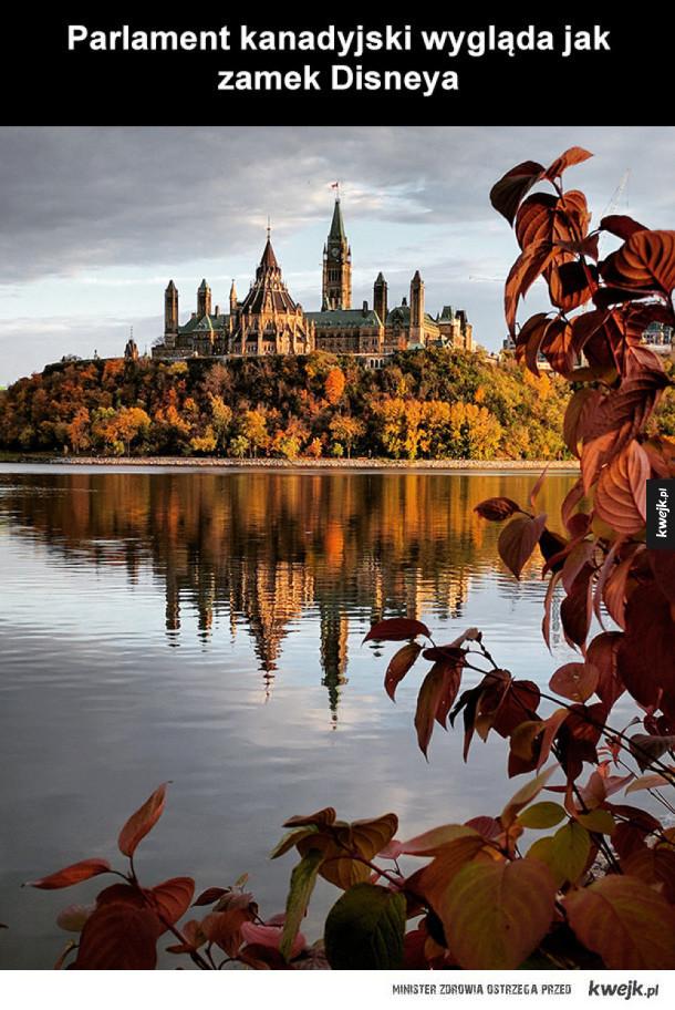 Parlament kanadyjski robi wrażenie