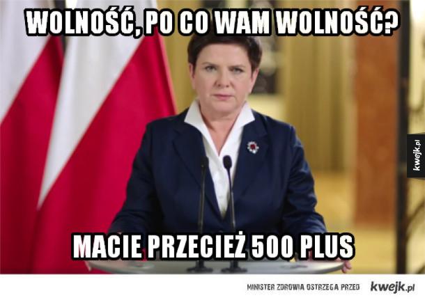 Orędzie premier Beaty Szydło w skrócie