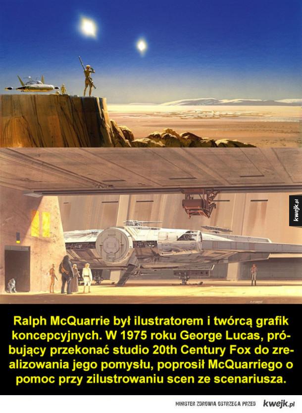 Grafiki koncepcyjne do Gwiezdnych Wojen autorstwa Ralpha McQuarriego