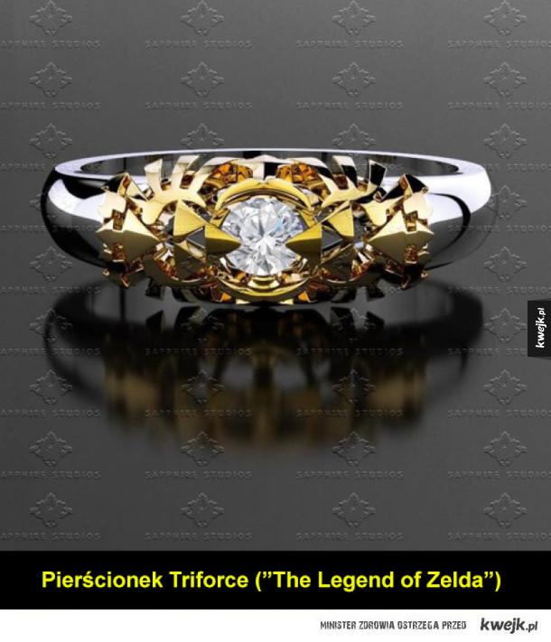 Fajne geekowe pierścienie i pierścionki