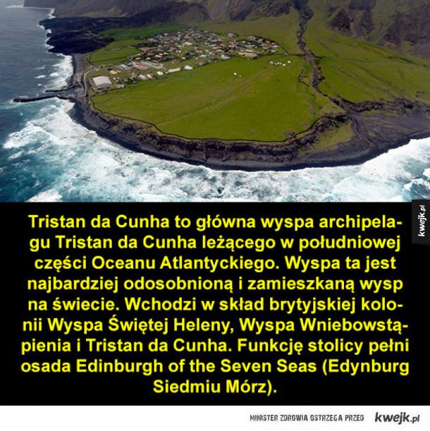 Tristan da Cunha, wyspa na końcu świata