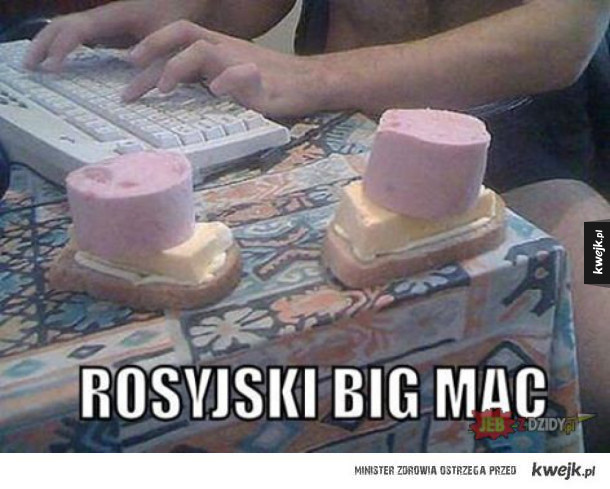 rosyjski big mac