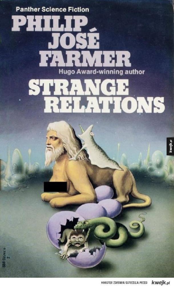 Potwornie dziwne autentyczne okładki zagranicznych książek