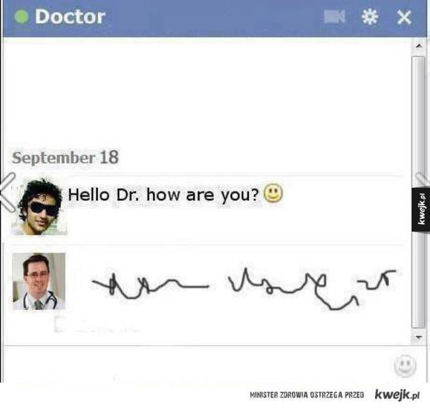 czat z doktorem