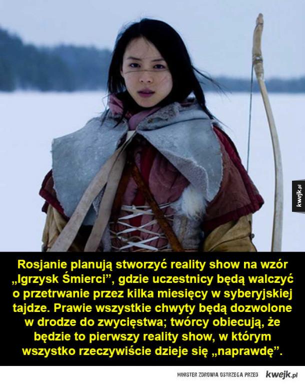 """Prawdziwe """"Igrzyska Śmierci"""" w Rosji"""