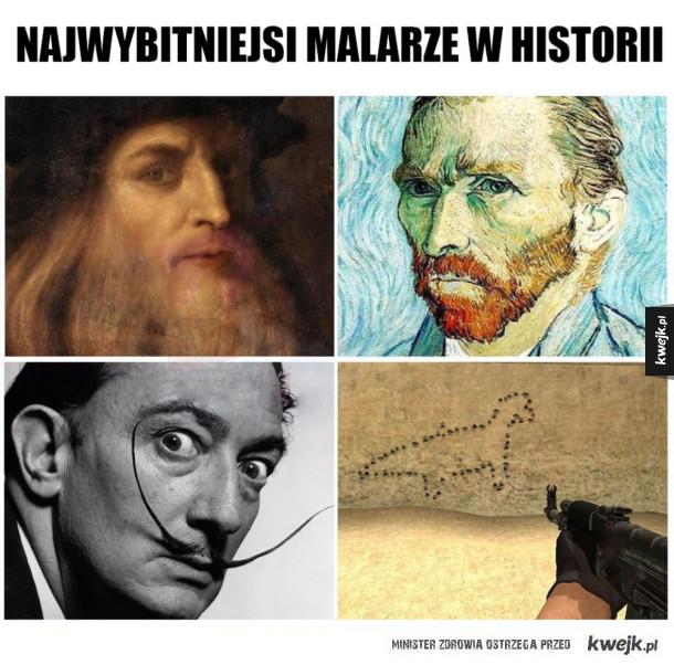 Wybitni malarze