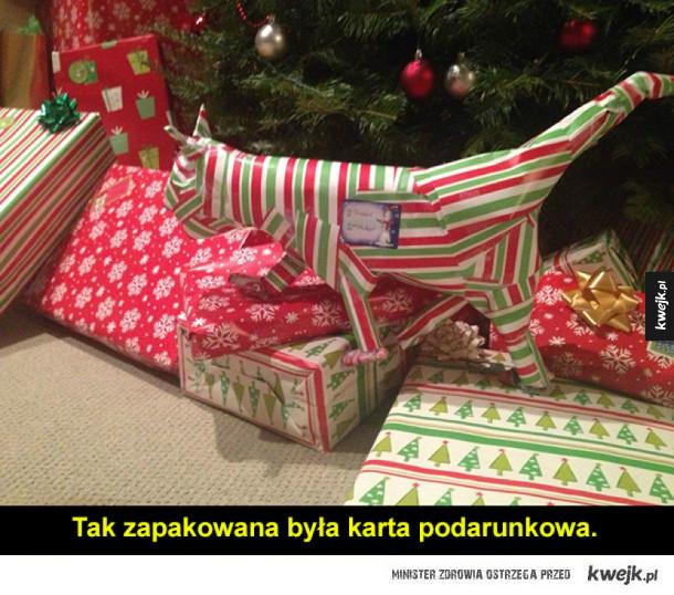 Mistrzowie pakowania prezentów