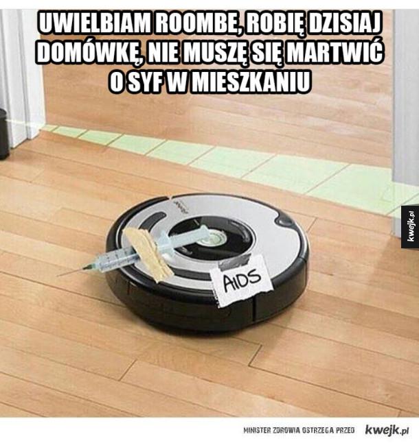 Roomba jest pomocna