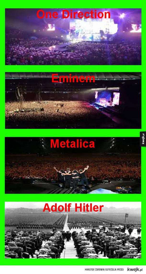 Adolf zebrał tłum