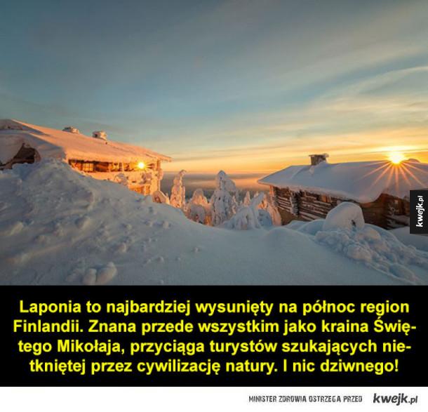 Laponia, najpiękniejsze miejsce, w jakim można spędzić zimę