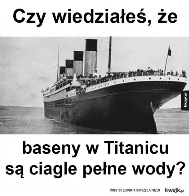 Ciekawostka o Titanicu