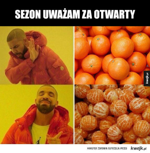 Sylwestrowe mandarynki