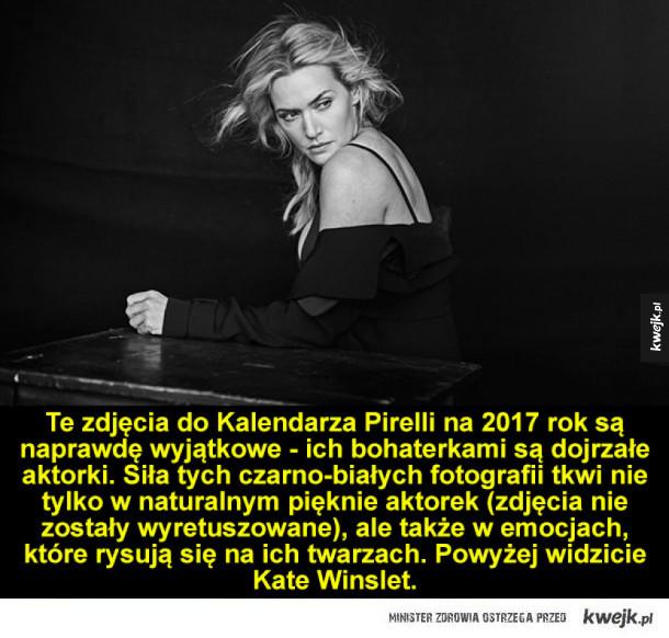 Zdjęcia do kalendarza Pirelli na 2017 rok