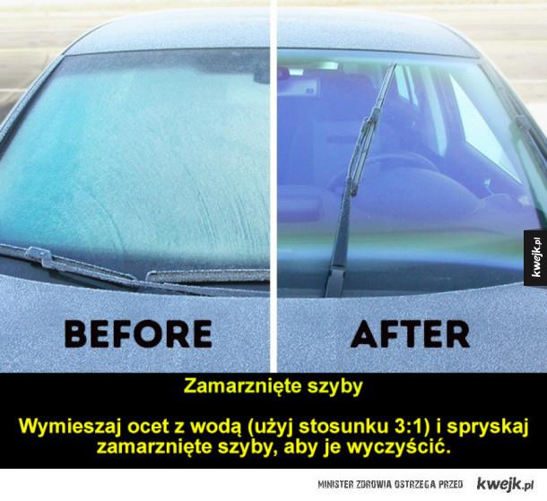 Masz samochód? Te triki przydadzą ci się na trudną, zimową porę!