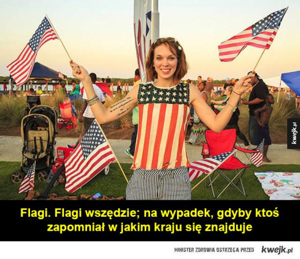 Rzeczy normalne w USA, które mogą dziwić obcokrajowców