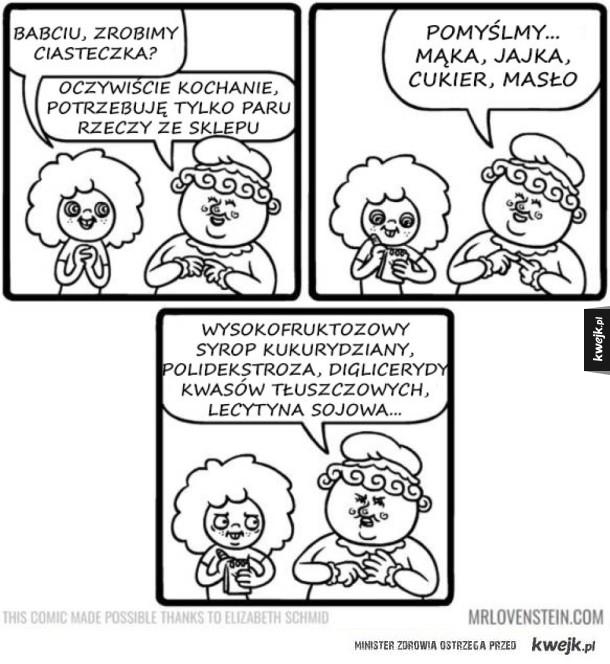 Komiksy z lekką dozą czarnego humoru