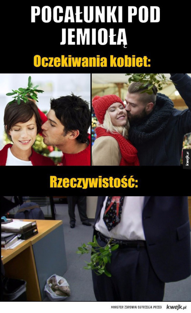 Całowanie pod jemiołą