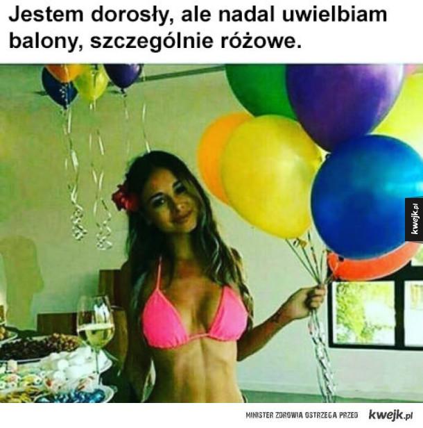 Uwielbiam baloniki