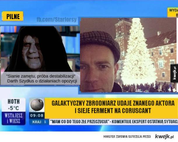 Obi-Wan Kenobi w Warszawie