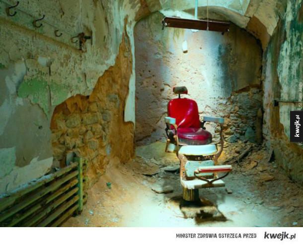 Opuszczone więzienia to nie miejsce, w którym chcielibyście się znaleźć