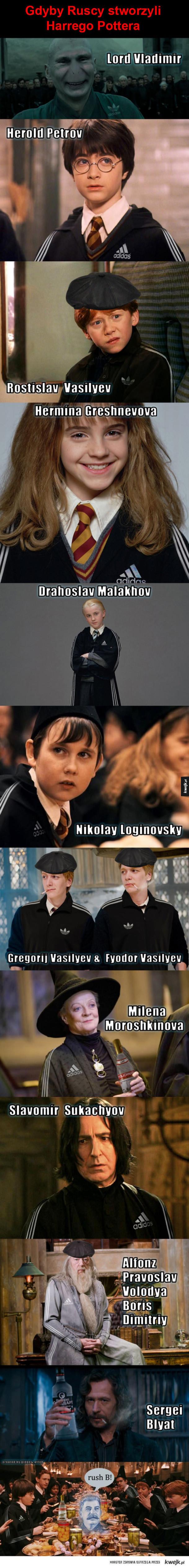 Harry Potter po rusku