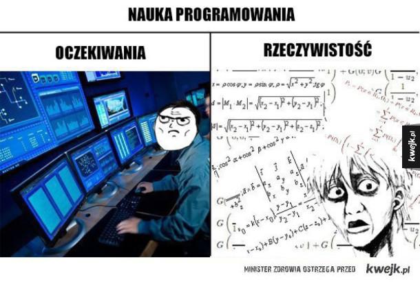 nauka programowania taka jest