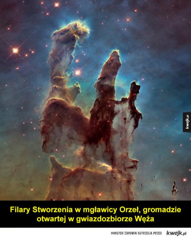 Niezwykłe zdjęcia wykonane przez teleskop Hubble'a