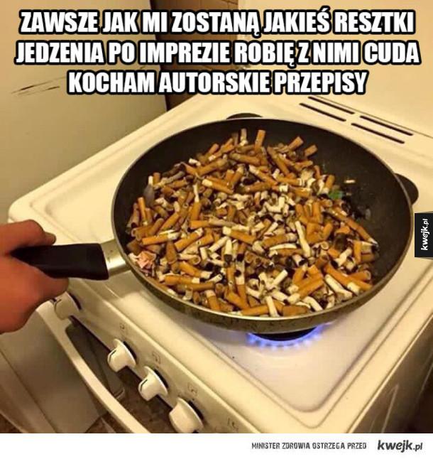 Jestem wirtuozem kuchni