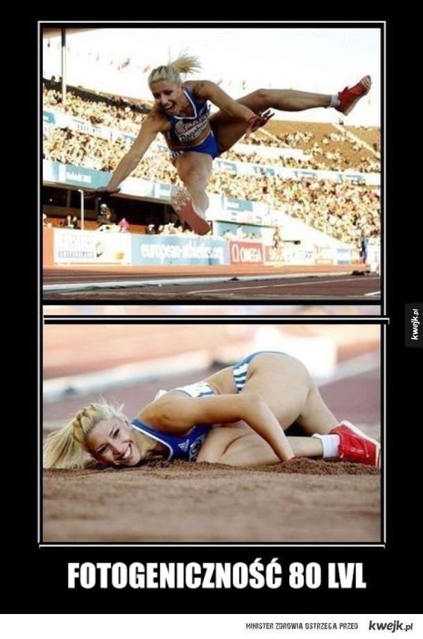 Sportowa dziewczyna