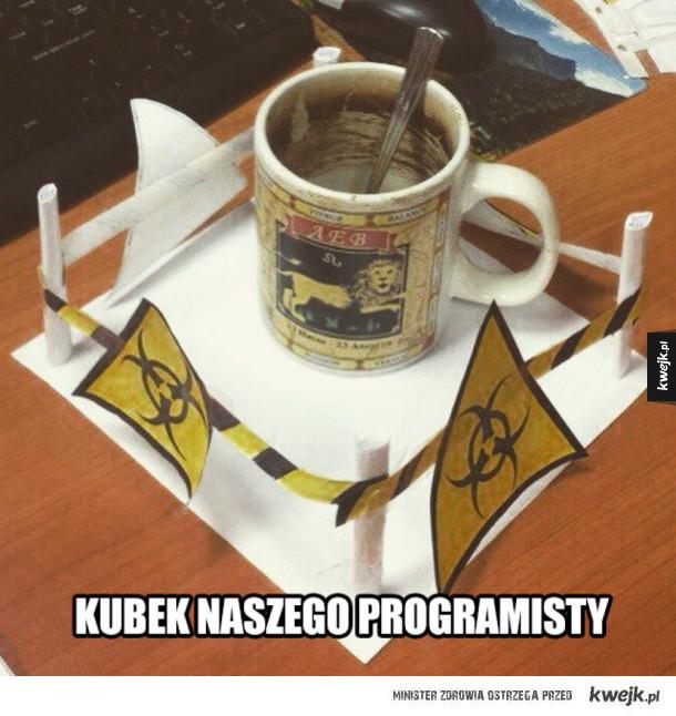 Kubek naszego programisty