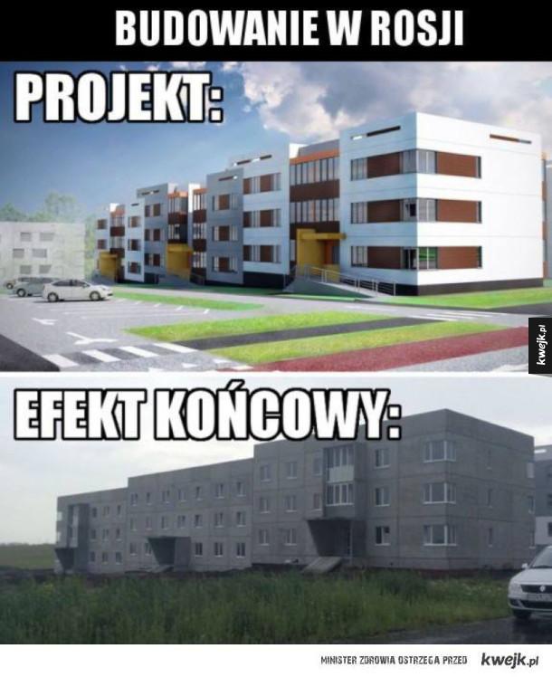 Budowanie w Rosji