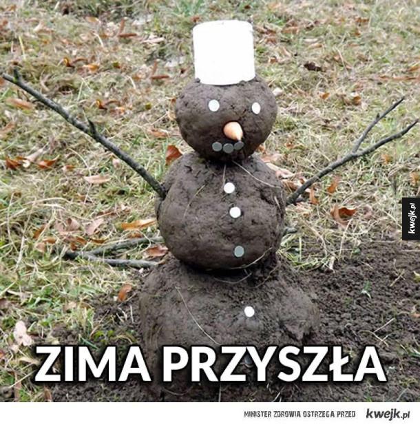 Zima przyszła