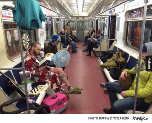 Tymczasem w rosyjskim metrze