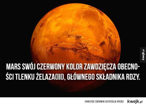 Garść interesujących informacji o Czerwonej Planecie