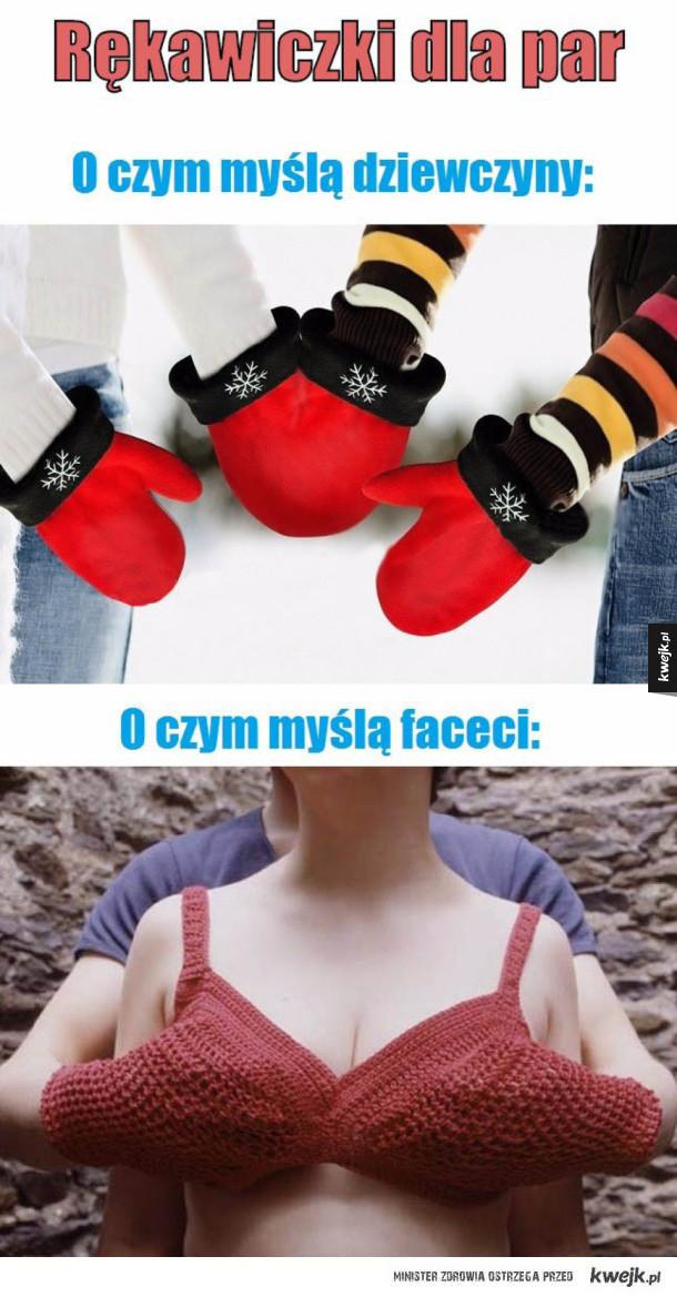Rękawiczki dla par