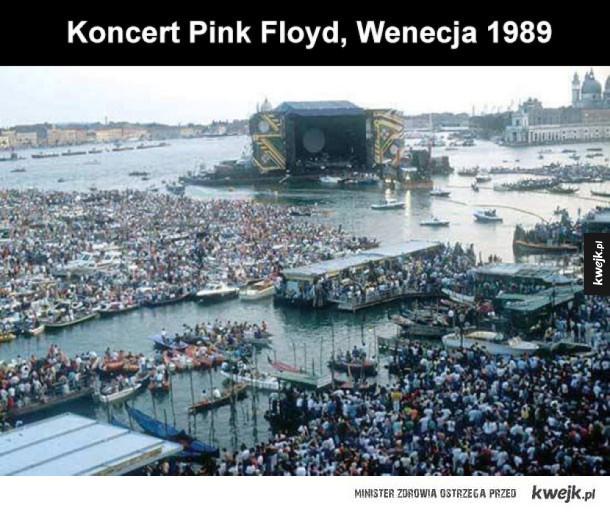 pink floyd w wenecji