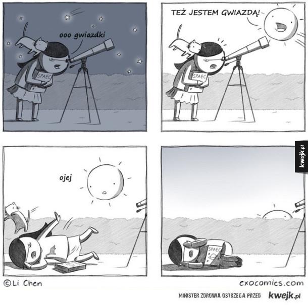 Gwiazdy i teleskop