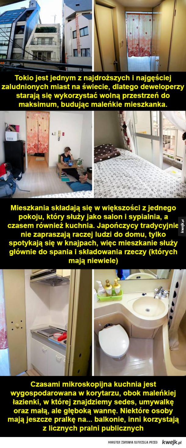 Jak wyglądają typowe mieszkania w różnych krajach