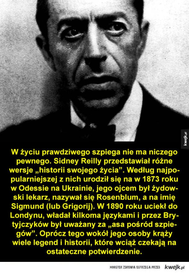 Sidney Reilly, prawdziwy James Bond