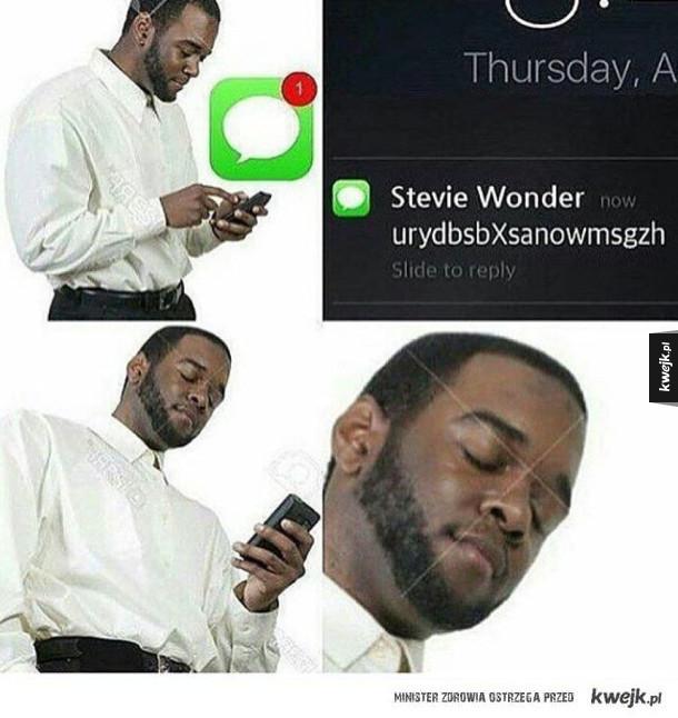 SMS od Wondera