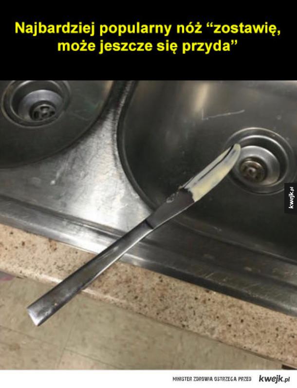 Najbardziej popularny nóż