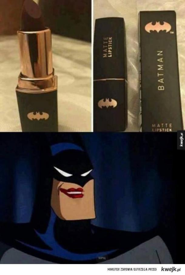 Kosmetyki dla Batmana