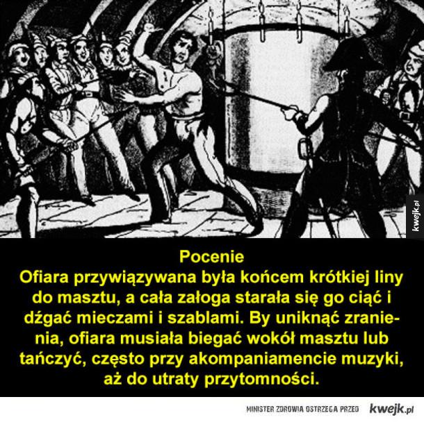 Kary stosowane przez piratów