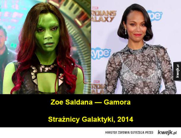 Aktorzy, których ciężko rozpoznać przez charakteryzację