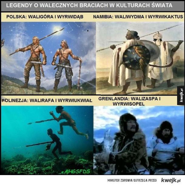 Legendy o walecznych braciach