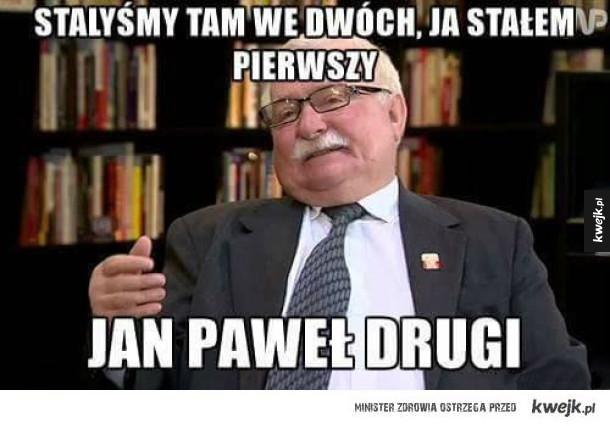 Typowy Lech Wałęsa