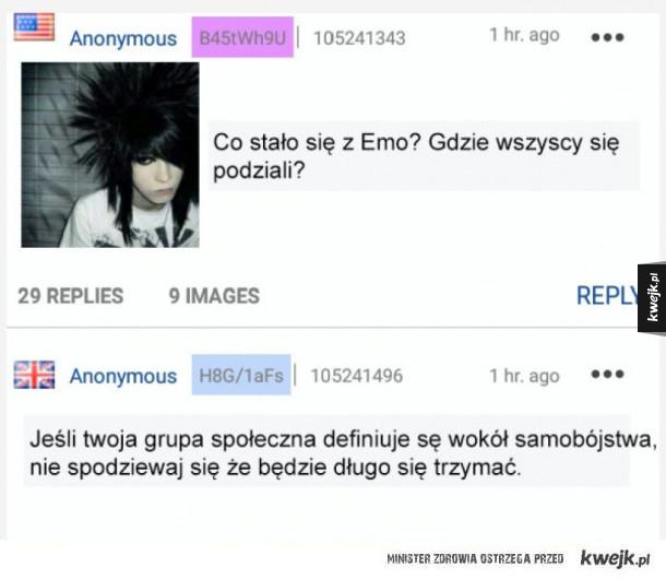 Gdzie się podziali emo