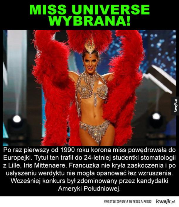 Miss Universe wybrana! I nie jest to latynoska
