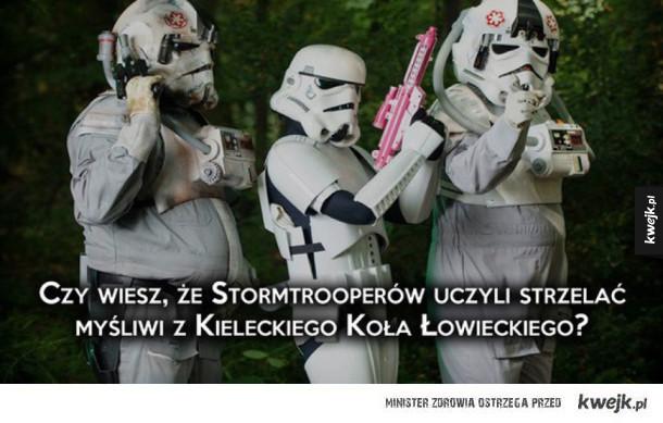 Czy wiesz, że stormtrooperów uczyli strzelać myśliwi z kieleckiego koła łowieckiego?