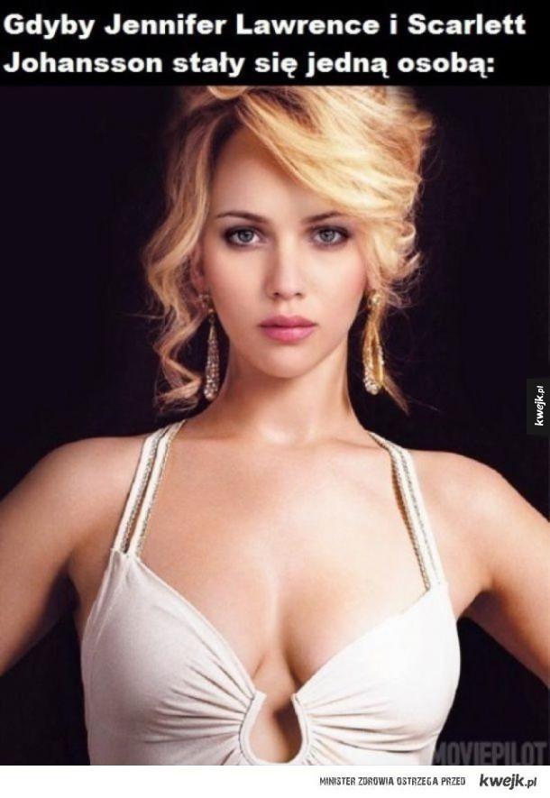Jennifer Lawrence i Scarlett Johansson jako jedna osoba